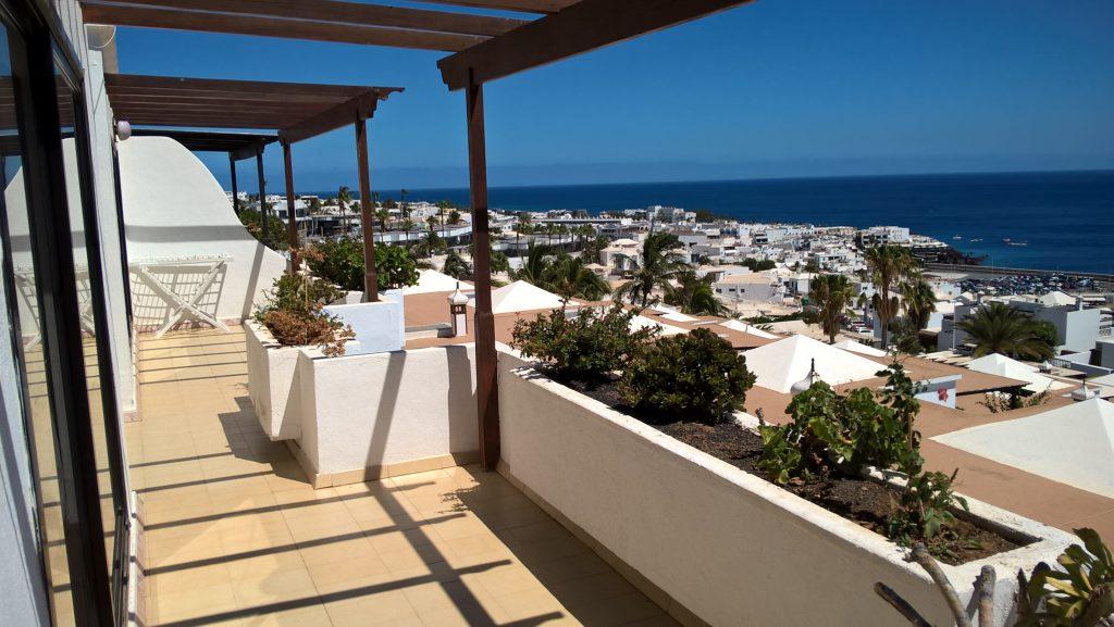 Penthouse, Lago Verde, Old Town, Puerto del Carmen, Lanzarote balcony